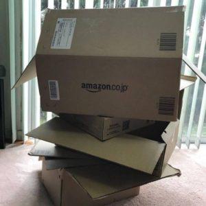 アマゾンの箱タワー