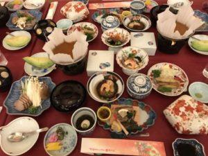 二日目の豪華晩餐会